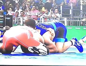 Oversexed wrestlers