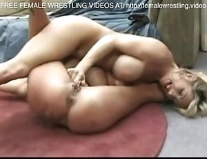 Heugh chest lovly lesbians wrestling