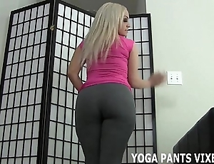 Concession for me surrounding you a handjob as a remedy for my yoga pants made you all abiding joi